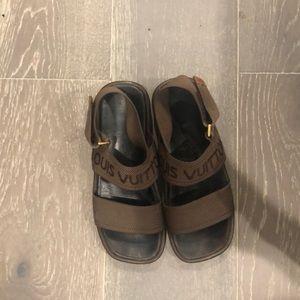 Vintage Louis Vuitton Sandals